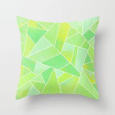 #home #decor #society6 #pillow #cushion #green #lime #citrus #fresh