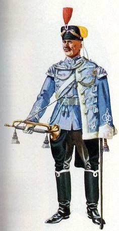 German; 16th Husaren Regiment 'Kaiser Franz Joseph von Oesterreich, König von Ungarn', Trumpeter