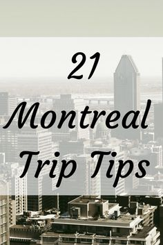 Here's tips for planning a trip to Montreal. Learn what the best things to do in Montreal are and how to travel cheap in Montreal.