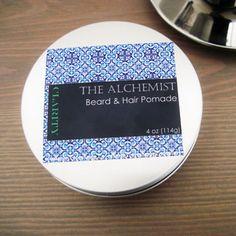Hair And Beard Pomade- The Alchemist Clarity