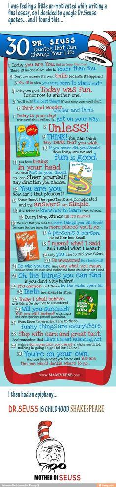 Good ol Dr. Seuss! @Amy Lyons Lyons Lyons Lyons Lyons Burton