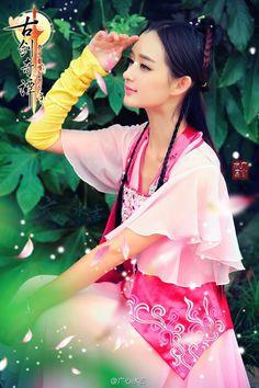 陈丹婷 小排 Chinese cosplay