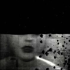 ☾ Midnight Dreams ☽ dreamy dramatic black and white photography - michelle brea