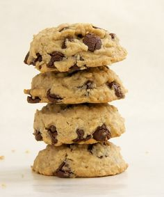 Oatmeal Peanut Butter Chocolate Chip Cookies combine three favorite classic cookies into one really, really good cookie. - Bake or Break