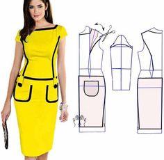vestidos color amarillo - Buscar con Google