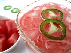 Watermelon Jalapeno Margarita 2