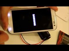 Charge your Samsung s3 s4 s5 Note 2 & 3 with a Broken USB port that wont charge or sync - YouTube