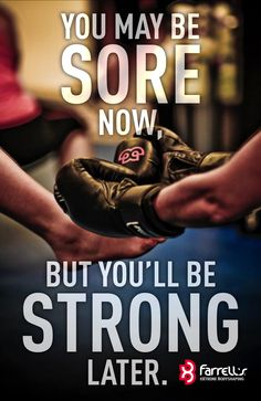 Sore now, strong later! See what Farrell's eXtreme Bodyshaping is all about! www.JoinFXB.com