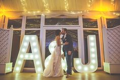 Be sure to wow your guests this wedding season with our 5ft Light Up Letters. They make an amazing statement and give yourselves and your guests a fabulous photo opportunity as explained by one of our happy brides.The letters on the day looked amazing, and worked so well with our whole setting. #lightupletters #letterhire
