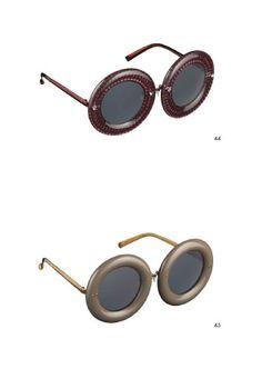 Vuitton fait des lunettes à montures cuir  aw 2012