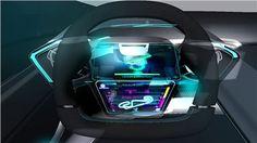 Abarth Scorp-Ion (IED), 2011 - Steering Wheel Rendering