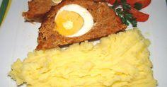 Mennyei Tojásos stefánia szelet recept! Egy kiváló stefánia szelet (avagy stefánia vagdalt) recept! Egyszerű, kiadós, és finom recept, ne hagyd ki te sem! Hungarian Cuisine, Hungarian Recipes, Hungarian Food, Cooking Recipes, Healthy Recipes, Other Recipes, Meatloaf, Mashed Potatoes, Food To Make