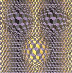 Die Kunstwerke von Victor Vasarely