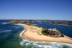 Newcastle - NSW - Australia mon-bout-d-australie Photography Gallery, Aerial Photography, Australia Living, Australia Travel, Places Around The World, Around The Worlds, Australian Photography, Australian Continent, Australian Beach