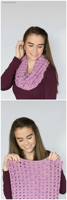 Lavender Valley Cowl - Crochet Pattern + Giveaway