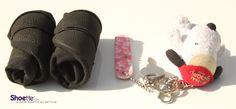 Les ballerines pliables et enroulables Shoete sont aussi petites qu'un porte clés pour se glisser dans votre sac à main !