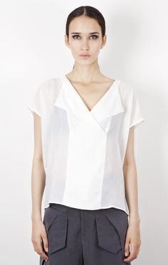 Top Augusta By Esther Perbandt Now available at www.upandrising.com #upandrising #estherperbandt #fashion #berlin