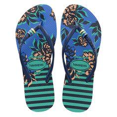 9a07dcccb7a Havaianas Slim Thematic Mint Green Flip Flop