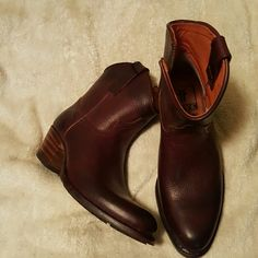 Cowboy boots Boots with great heel.  Frye Boots Frye Shoes Ankle Boots & Booties
