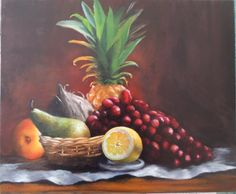 #art #life #painting #drawing Still life with coconut II / Bodegón con coco II