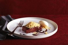 Spiced quince terrine with almond crumbs - Recipes - delicious.com.au