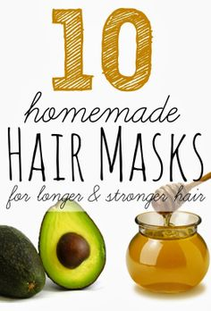 10 Homemade hair masks for longer & stronger hair