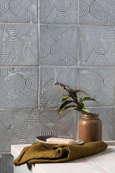 Bazaar Mondrian Glazed Terracotta House Tiles, Wall And Floor Tiles, Stone Interior, Decor Interior Design, Types Of Flooring Materials, Porch Tile, Ceramic Tile Bathrooms, Mandarin Stone, Glazed Tiles