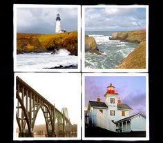 Oregon coasters......I have always wanted to go to a  LIGHTHOUSE