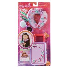 Living A Doll's Life : *In Store Report* My Life As.....Fall Releases Our Generation Doll Accessories, My Life Doll Accessories, American Girl Accessories, Our Generation Dolls, American Girl Doll Room, American Girl Crafts, Diy Doll School Supplies, Cosas American Girl, My Life Doll Stuff