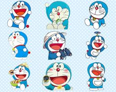 65 Doraemon Clipart PNG Doraemon Digital Graphic Image Doraemon Clip Art Scrapbook Invitation cliparts INSTANT DOWNLOAD printable 300 dpi (2.50 USD) by allDigitalPapers
