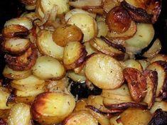 rosmariiniperunat - Kotikokki.net - reseptit Monkey Bread, Sprouts, Potatoes, Vegetables, Food, Potato, Essen, Vegetable Recipes, Meals
