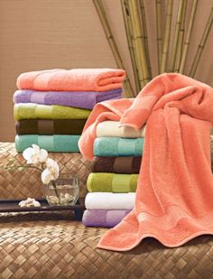 Bamboo Towels - I have used bamboo sheets & towels for years and love them! Give it a try!
