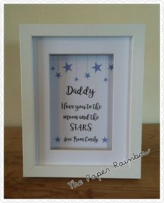 IKEA RIBBA Box Frame Personalised Vinyl Im dreaming of a white Christmas Red