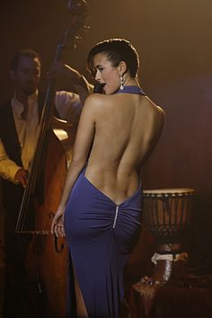 Cote de Pablo in an episode of NCIS. There is not a person alive that doesn't want to stare at this wondrous beauty.