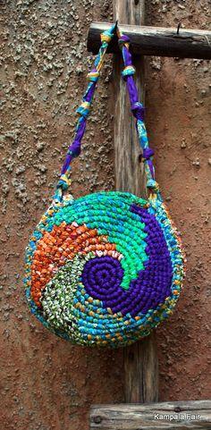 handmade 1-of-a-kind bag