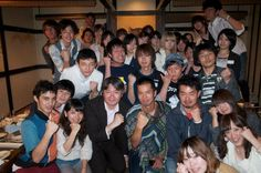 The social gathering of a university.The teacher told migration to New Zealand, and the thing of life.