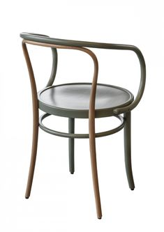 Wiener Stuhl Chair by August Thonet for Gebruder Thonet Vienna GmbH Metal Chairs, Cool Chairs, Wishbone Chair, Single Piece, Dining Chairs, Elegant, Wood, Interior, Furniture