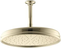 Kohler Traditional Round Gpm Rainhead with Katalyst Air-Induction Technology Vibrant Brushed Nickel, Gray Kohler Faucet, Kohler Toilet, Faucets, Dublin, Bathroom Shower Doors, Master Bathroom, Bathroom Ideas, Bath Showroom, Refinish Kitchen Cabinets