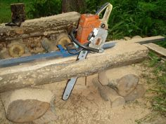 Bilderesultat for chainsaw mill