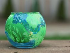 Earth Luminary Craft on Cool Mom Picks