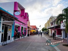 Downtown Cozumel Mexico