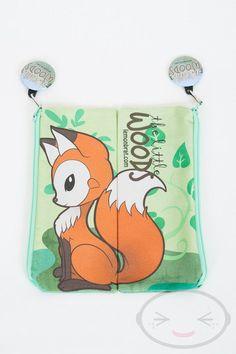 Séance Fox crayon sac par lemonbrat sur Etsy, $9.00