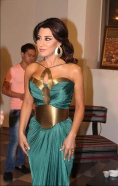 Gorgeous Najwa Karam! Wow! Amazing dress