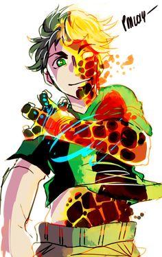 HeatBlast transforming #Omniverse