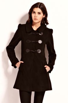 Duffle coat - not sure about the colour. Love the shape though.