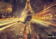 Paris, snow & love....  soon, very soon...