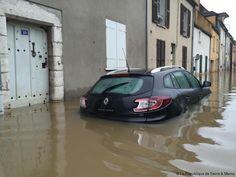 Montargis / Nemours - inondations  : quand la montée des eaux  annonce la baisse des impots ...