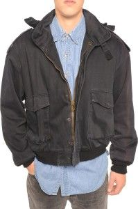 Unisex 1980s Authentic Pilot M90 Black Jacket Available Now: http://www.thevintagetwin.com/shop/products.cgi?sku=8150&sex=m