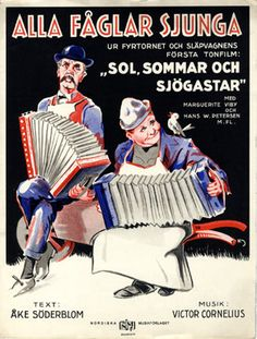 Alla fåglar sjunga, 1932 (ill.: ? (monogram)); ref. 15067