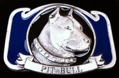 Pit Bull Guard Dog House Pet Animal Canine Belt Buckle Belts Buckles #pitbull #dog #pet #guarddog #beltbuckle